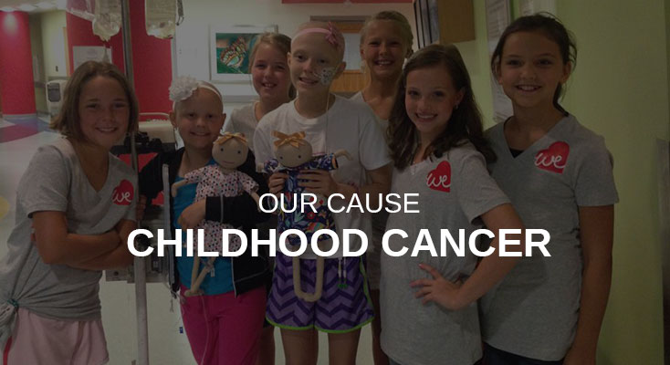 Forever We supports childhood cancer research