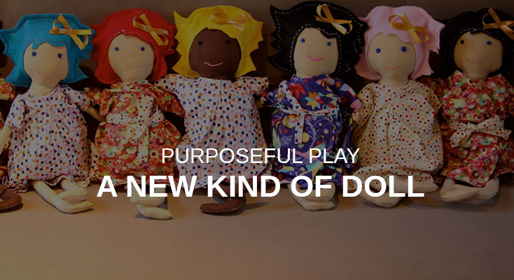 Order Jewel - a doll to support childhood cancer from Forever We